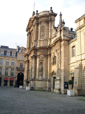 Bordeaux, église Saint-Dominique, photo A.M.