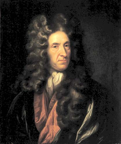 Portrait de Daniel Defoe, National Maritime Museum, London
