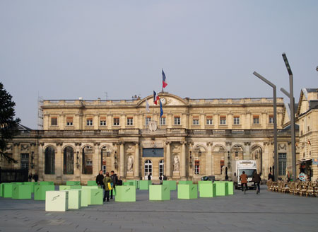 Bordeaux, hôtel de ville, photo A.M.