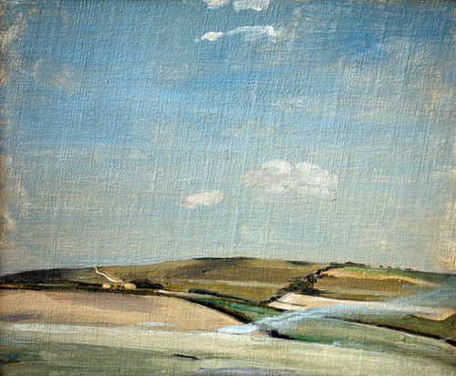 William Nicholson,Sussex Downs.