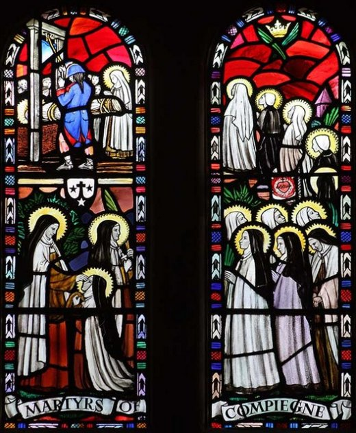 our lady of mount carmel. Church quidenham norfolk windows-geograph.org.uk